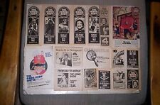 Chuck Barris 31 TV Guide Ads GONG SHOW, $1.98 BEAUTY SHOW,RAH-RAH SHOW,etc.
