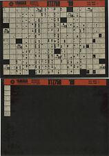 YAMAHA XTZ 750 _ Service Manual _ Microfich _ microfilm _ 1989