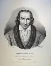 1831 Homöopathie Homeopathy Johann Ernst Stapf Litho Portrait Speckter