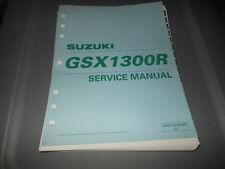 Factory OEM Suzuki 2000 GSX1300R Supplementary Service Manual 8chpt