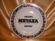 Metaxa The Greek Spirit 1994 Commemorative Plate