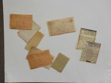 7 WWII Letters 242nd Regiment Flushing Long Island New York Lot WW 2 V-Mails WW2