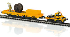 MARKLIN HO 39940 Unimog Type 1650 Hi-Rail Truck and Catenary Line Car DBG