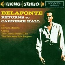 HARRY BELAFONTE - LIVING STEREO-BELAFONTE RETURNS TO CARNEGIE HALL  CD  NEU