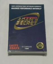 Adam's Secret Sexual Stimulant Herbal - 10 Capsules - New Sealed - Free Shipping