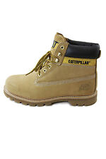 Caterpillar Vintage Leather Boots Colorado Black, Chocolate and Honey