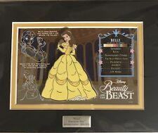 Acme Disney Hot Art Character Key pin - Belle (LE 500)-with Free Black Box
