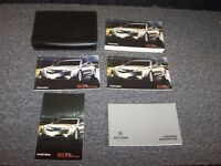2011 Acura TL Owner Owner's Operator User Guide Manual Book Set AWD 3.5L 3.7L V6