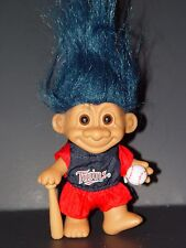 "Troll Doll 4 1/2"" Russ Baseball Minnesota Twins"