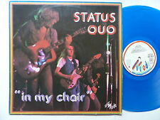 status quo iN MY CHAIR md 9018 france Blue vinyl
