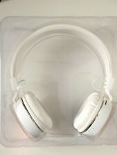Wireless headphones White and pink NIB Aduro products NEW foldable
