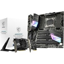 MSI Creator X299 eATX Motherboard for Intel LGA2066 CPUs