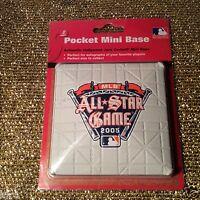 MLB All Star Game 2005 Detroit Tigers Baseball Schutt Mini Pocket Base NEW