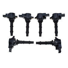 Set of 6 Ignition Coil For Mercedes-Benz W164 W203 R251 R171 Sprinter 0001501980