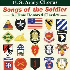 United States Army Chorus, U.S. Army Chorus - Songs of the Soldier [New CD]