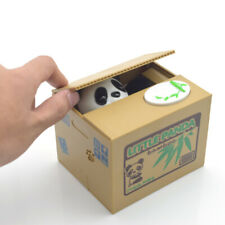 Cute Panda Automated Piggy Bank Money Box Stealing Coin Saving Money Box