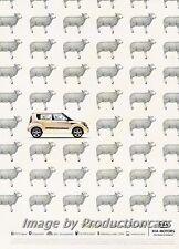 2010 Kia Soul - Sheep - Original Advertisement Print Art Car Ad J692