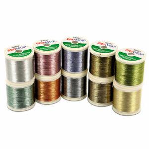 ProWrap Metallic Twist Rod Building Thread (100yd) 10 Colours!
