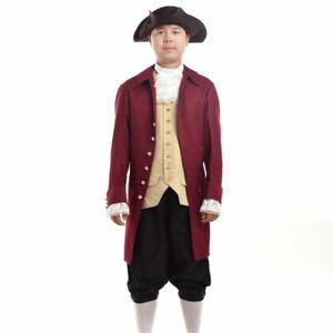 Vintage US Revolutionary War Reenactment Tricorne Tricorn Hat Costume Pirate Hat