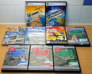 Microsoft Flight Simulator X Deluxe Edition + Add ons. Excellent Condition.