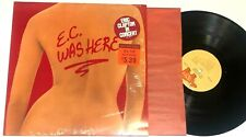 E.C. Was Here by Eric Clapton Lp In Shrink w Hype Sticker blues rock guitar Nm