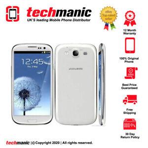 Samsung Galaxy S3 III GT-I9300 - 16GB - White (Unlocked) Smartphone