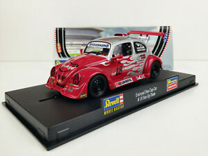 Slot Car scalextric Revell 08334 VW Beetle Uniroyal Fun Cup Team Car #18