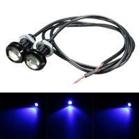"2x 10W Boat Drain Plug LED Blue Light Lamp 1/2"" NPT For Marine Underwater Fish"
