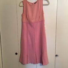 NWT Etcetera Blush Pink Wool Blend Dress 4