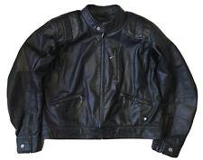 BMW Black Leather Lederjacke Gr.58 XXL Motorradjacke Biker Jacket Veste TOP!