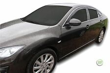 DMA23146 Mazda 6 GH 4 puerta maletero 2007-2012 viento desviadores 4pc Heko Teñido