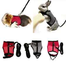 Breathable Mesh Small Pet Hamster Vest Leash,Gerbil Harness Leash Rope Chest