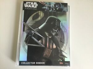 Topps STAR WARS - ROGUE ONE Master - Complete 213 Trading Cards LIMITED Binder