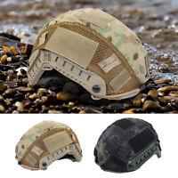 Tactical Military Helmet Cover forOps-Core Fast Helmet BJ/PJ/MH Hunting MR Camo