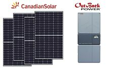 6.3 kW Hybrid Solar Energy System off grid tied panel inverter panneau solaire