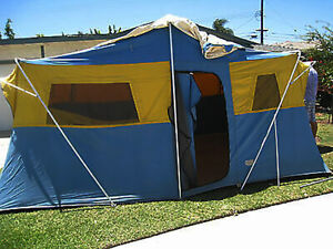 Vintage Sears Tent Continental Canvas 12.5'X10' Model 78075