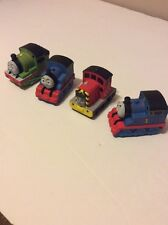 Set Of 5 Lot Soft Squeezable Trains-  Thomas, Percy, Rosie and Salty