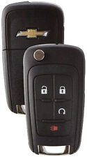 NEW Chevy GM OEM  Switchblade Flip Key 4 Button Remote  20873620 5913597 LOGO
