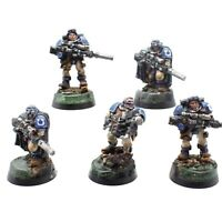 Warhammer 40K Space Marines Ultramarines Scout Squad OOP Well-Painted x 5