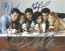 All 6 Cast Members Of Friends Autographed 8 x 10 Photo