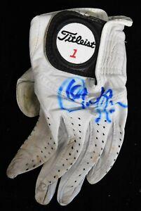 Christina Kim LPGA Signed Titleist Worn Glove JSA Authenticated