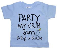 Camisas y camisetas azul para niños de 0 a 24 meses