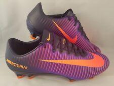 quality design 562d0 6fce6 Nike Mercurial Vapor Xi Fg Acc Botines de fútbol para hombres talla 11  Púrpura N..