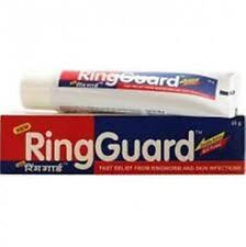 2 X RING GUARD ANTI-FUNGAL CREAM FOR RING WORM N SKIN INFECTIONS 2 X 20 GM