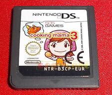 COOKING MAMA 3 Nintendo Ds Versione Europea ○○ SOLO CARTUCCIA - EY