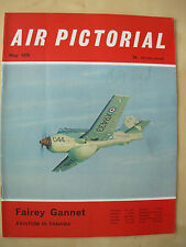 AIR PICTORIAL MAGAZINE MAY 1970 FAIREY GANNET - AVIATION IN PANAMA