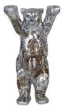 Buddy Bear enamorado en Berlín II nuevo/en el embalaje original grande 22cm Berliner oso + placa de vidrio 2017