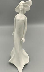 "Royal Doulton Images ""Wistful"" HN3664 Plain White Lady Figurine."