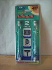 Feit Electric Bpq300T3/Cl/2 - 300 Watt 120 V Halogen Bulbs 2-pack