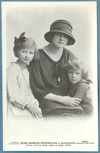 Vintage Postcard - Miss Gladys Cooper - Music Hall/Variety/Stage Star -
